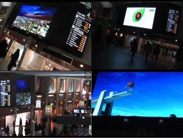 Ecran XXL Paris la Défense